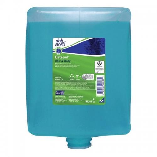 Estesol® Hair & Body - żel pod prysznic 2w1 - 4 litry
