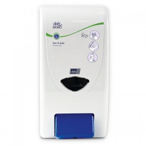 Dozownik DEB do kabin prysznicowych (z okienkiem) - pojemność 4 litry
