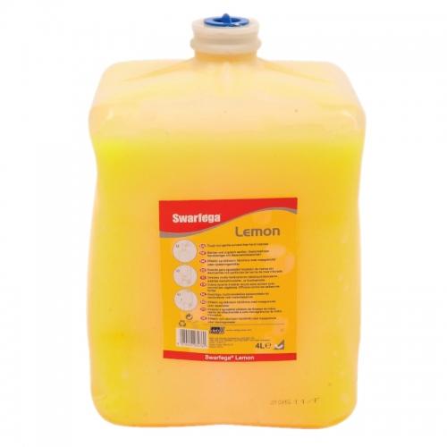 Swarfega® Lemon - pasta do czyszczenia ciężkich zabrudzeń - 4 litry