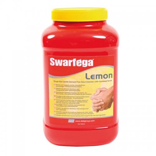 Swarfega® Lemon - pasta do czyszczenia ciężkich zabrudzeń - 4,5 litra (pojemnik)
